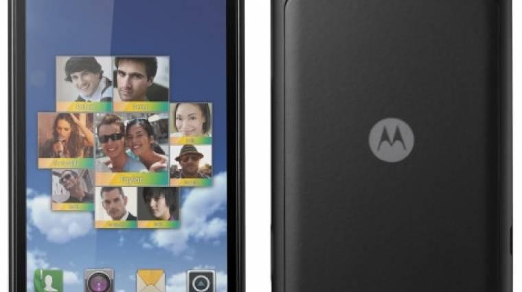 Két kedvező árú droiddal kezdte az évet a Motorola kép