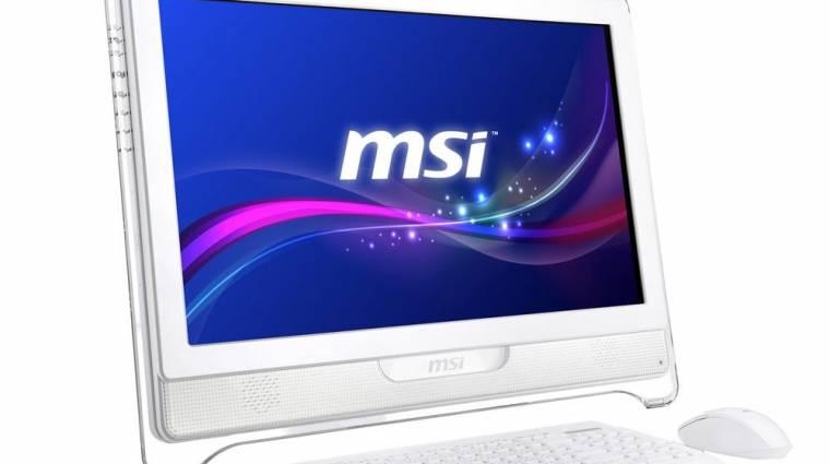 Újabb minden-egyben PC az MSI-tól kép