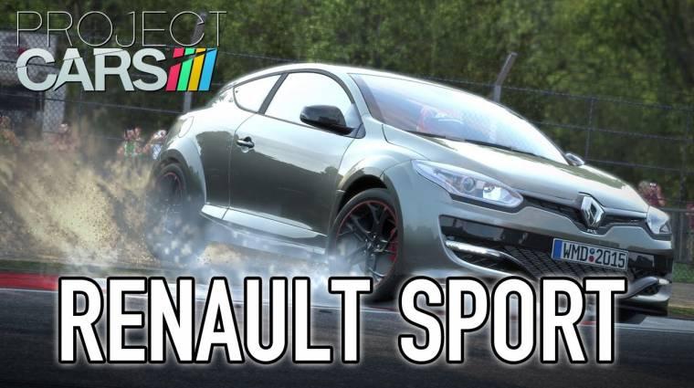 Project Cars trailer - a Renault is beszáll a buliba bevezetőkép
