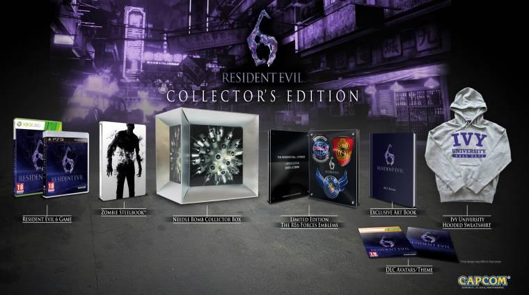 Élő GameTár ma 16 órától - Resident Evil 6 bevezetőkép