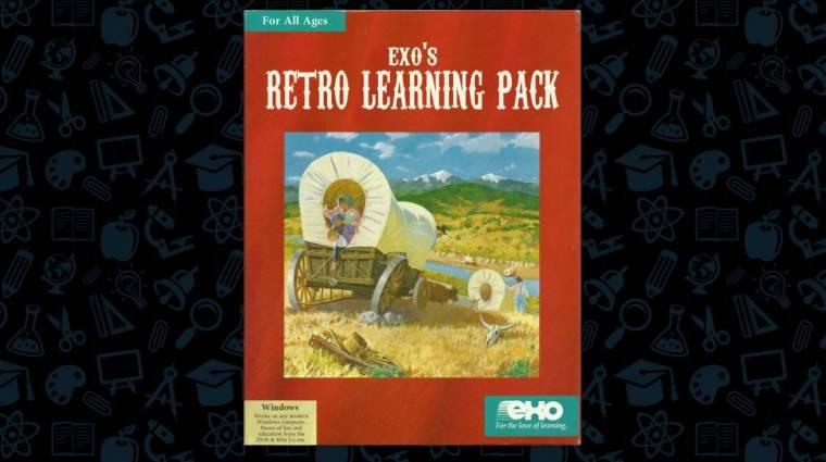 A családi karantén alatt pont van idő arra, hogy a gyerekek régi DOS-os játékokkal tanuljanak bevezetőkép
