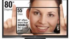 CES 2012: 80 colos 3D LED tévé a foci EB-re kép
