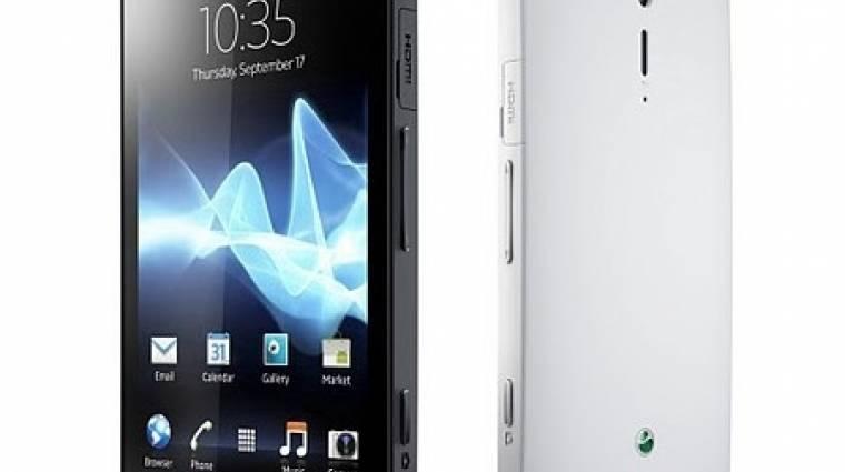 Sony XPERIA S: hivatalos a Nozomi kép