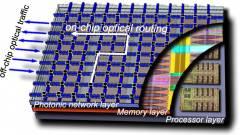 Szilíciumra integrált nanofotonikus technológia kép
