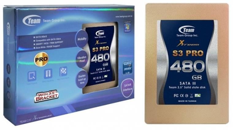 S3 PRO SSD-k a Team Grouptól kép