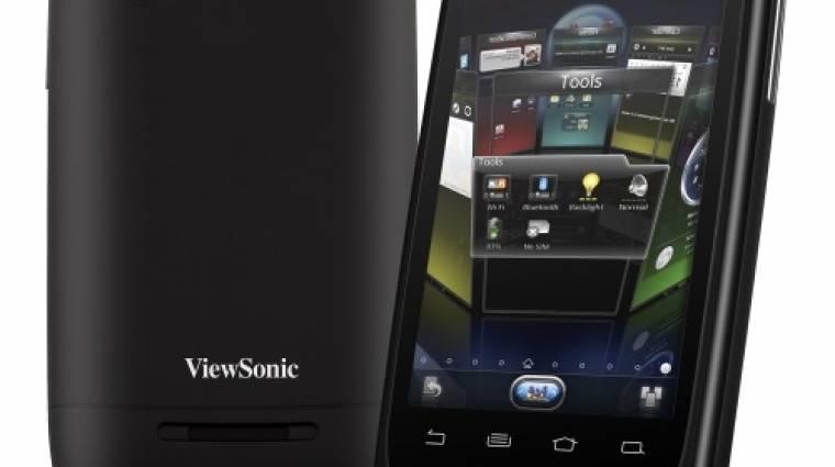 CES 2012: olcsón jön a Viewsonic dupla SIM-es droidja kép