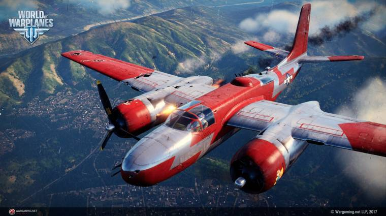 World of Warplanes 2.0 - ütős trailerek mutatják be az új verziót bevezetőkép