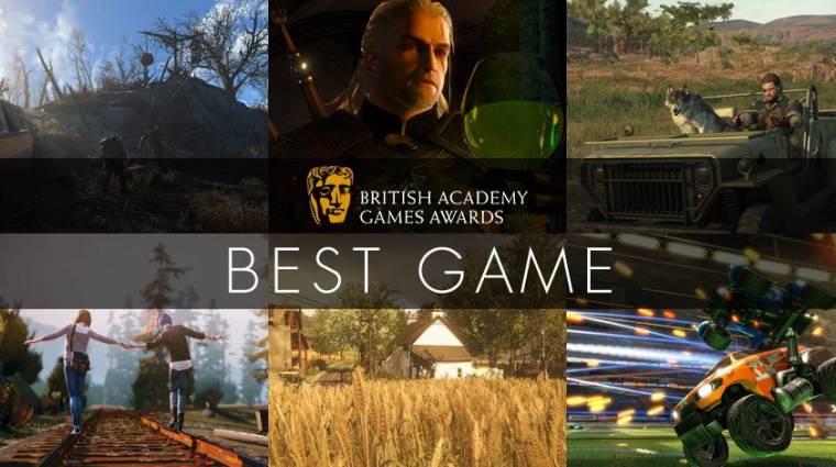 BAFTA - itt is tarolhat a The Witcher 3 bevezetőkép