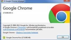 Mire képes a Chrome 17? kép