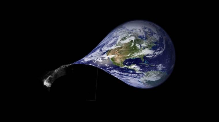 Minden nappal egyre kisebb a Föld tömege kép