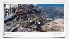 Google Street View a víz alatt kép