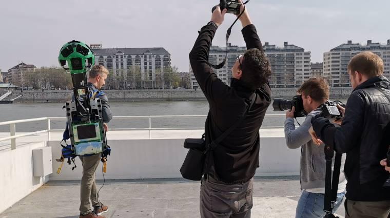 Magyarországra jött a Google hátizsákos embere kép