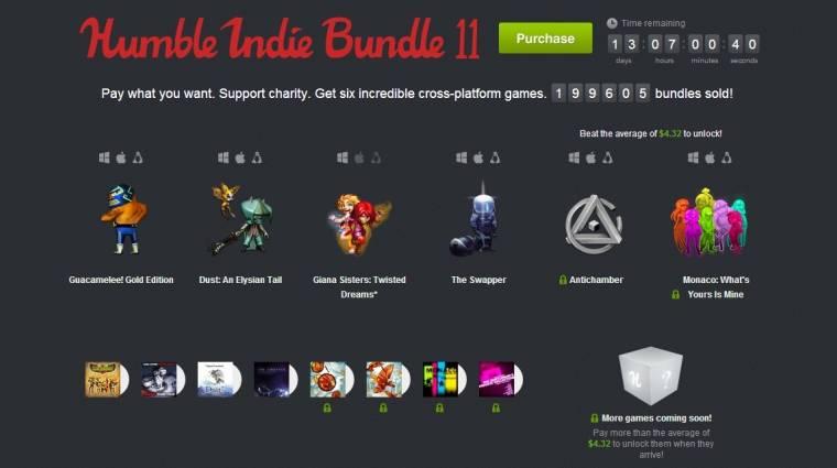 Humble Bundle - megint kiváló indie címeket kapunk bevezetőkép