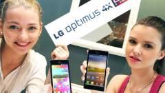 Bemutatták az LG első négymagos mobilját kép