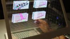 Átlátszó 3D kezelőfelületet fejleszt a Microsoft kép