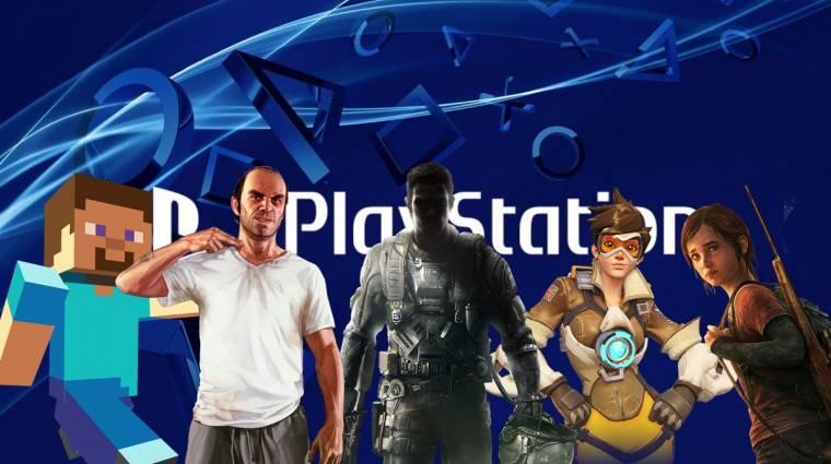 Sosem találnád ki, melyik játékot töltötték le legtöbbször tavaly a PlayStation Store-ból bevezetőkép