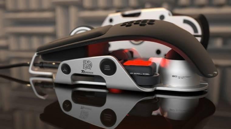 A Thermaltake és a BMW játékosoknak készített egeret - fotók kép