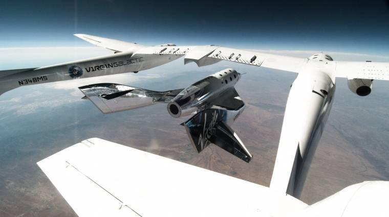 A Virgin Galactic egyre közelebb hozza az űrturizmust kép