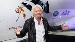 Richard Branson beintett: mégsem Jeff Bezos lehet az első milliárdos a világűrben kép
