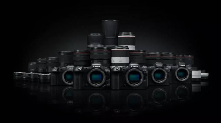A Canon szerint ezért melegszik túl videózás közben az EOS R5 és az EOS R6 kép