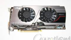 MSI GeForce GTX 680 Twin Frozr III hűtéssel kép