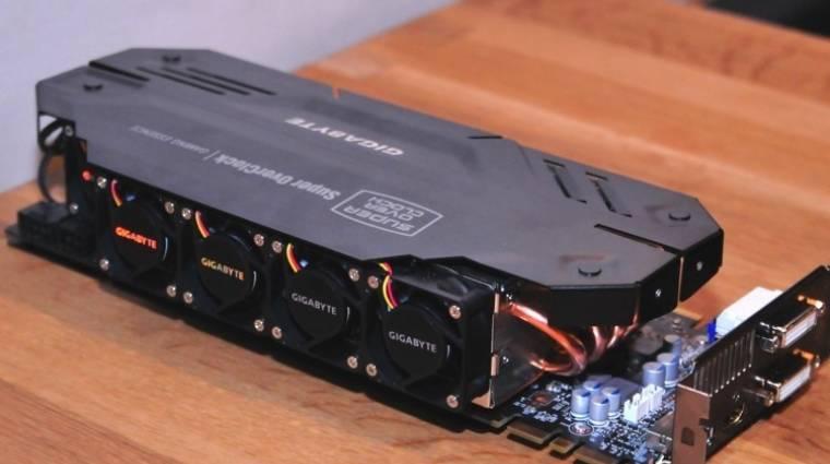 GeForce GTX 680 SuperOverclock a Gigabyte-tól kép
