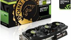 GeForce GTX 680 EXO a Point of View-tól kép