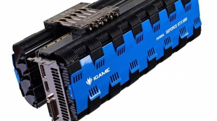 GeForce GTX 680 passzív hűtéssel kép