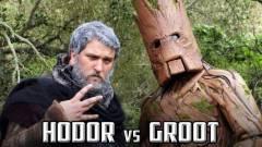 Napi büntetés: a Hodor vs Groot rappárbaj kép