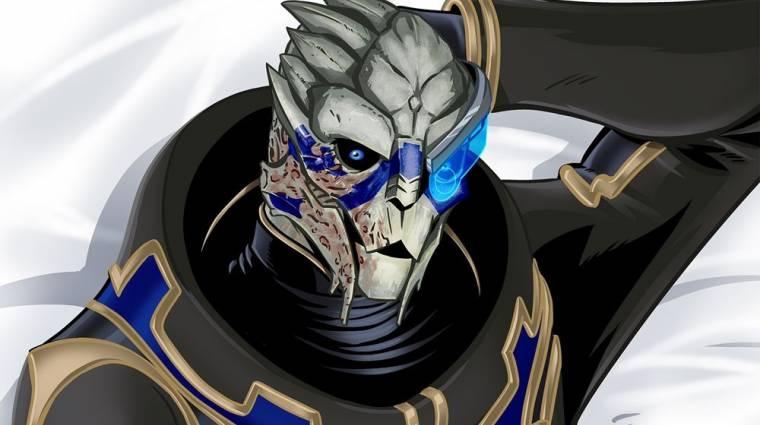 Ez a Mass Effect Garrus ölelőpárna tényleg létezik bevezetőkép