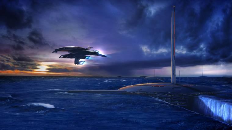Minden Mass Effect rajongó szíve megszakad, amikor ilyen képeket mutogat a BioWare bevezetőkép