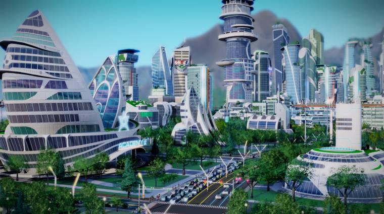 SimCity: Cities of Tomorrow - érkeznek a jövő metropoliszai bevezetőkép