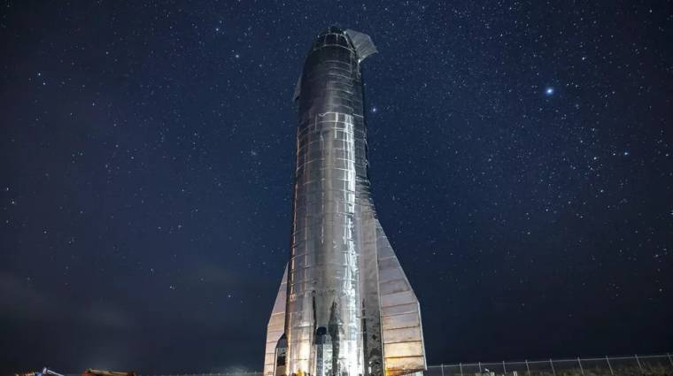 Hamarosan jöhet a SpaceX Starship űrjárművének tesztje kép