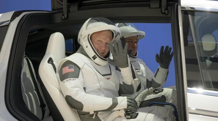 A SpaceX most először küld embereket az űrbe, innentől teljesen átalakulhat az űrutazás kép