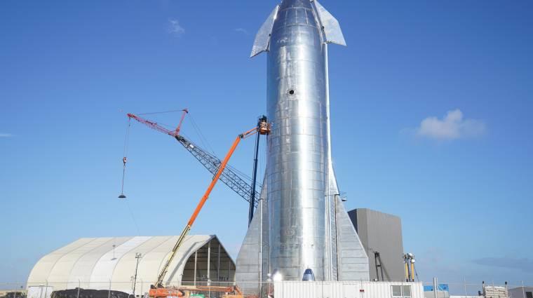 Elon Musk arra fogad, hogy jól fog sikerülni a következő Starship tesztrepülése kép