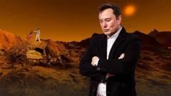 Elon Musk 2024-re űrhajót küldene a Marsra kép