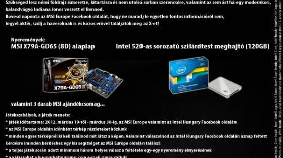 c0152949b4 Kincsvadászatot indított az MSI és az Intel - PC World