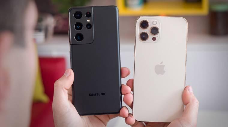 Érdekes kimutatás hasonlítja össze az androidos és iPhone-os felhasználókat kép