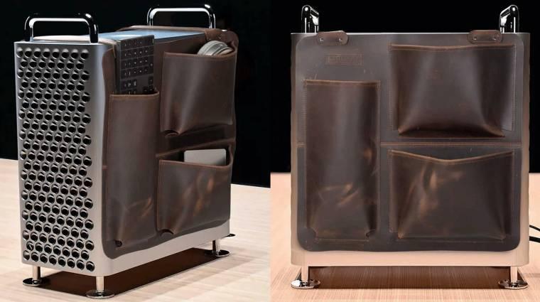 Nem csak az Apple Mac Pro kereke drága, a táskája is kép
