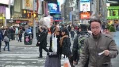 New York a Nikon D800 lencséjén keresztül kép