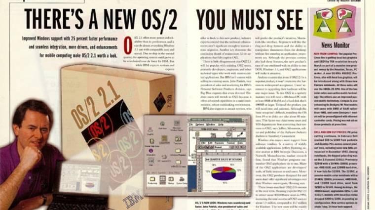 Az OS/2 felemelkedése és bukása kép