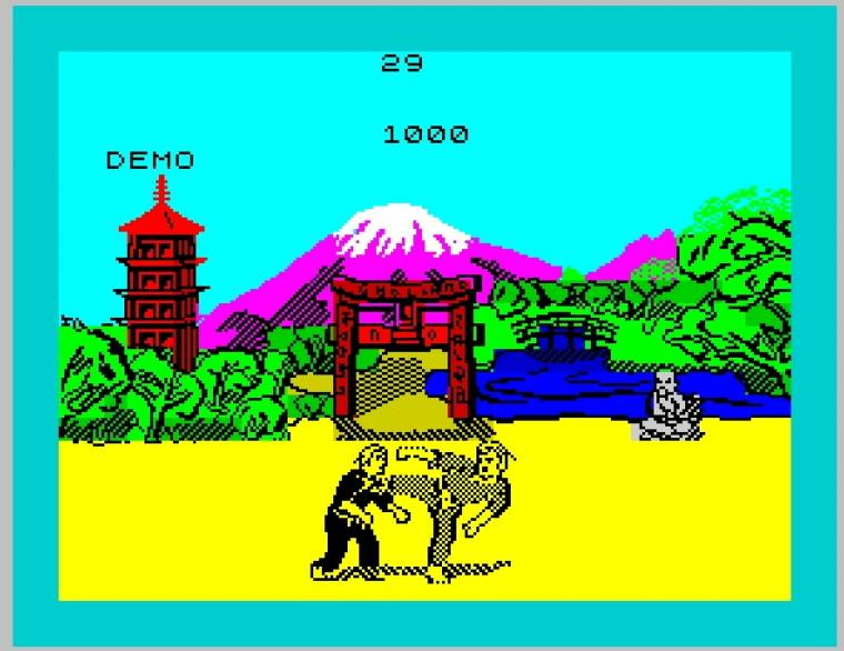 ZX Spectrum Exploding Fist