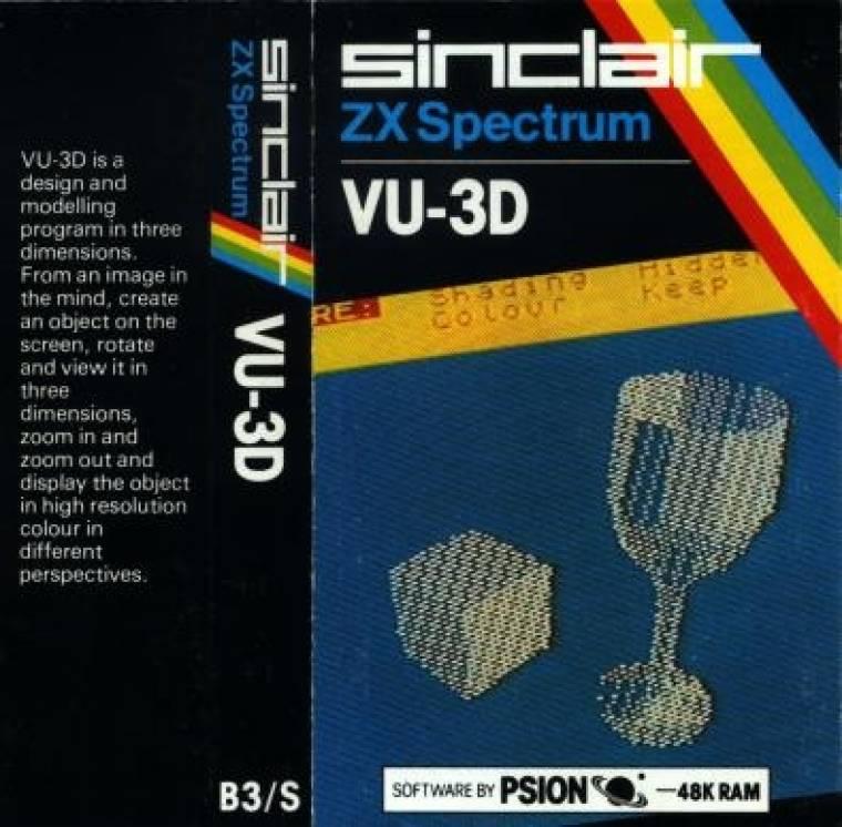 VU-3D 3D modellező ZX Spectrumre