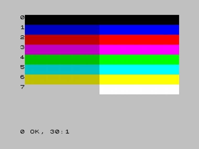ZX Spectrum színek