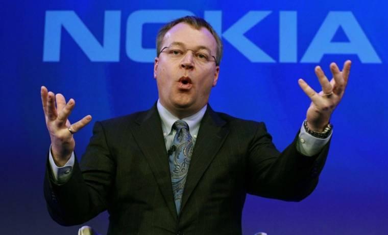 Stephen Elop, a Nokia vezérigazgatója