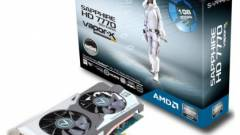 Radeon HD 7770 Vapor-X a Sapphire-től kép