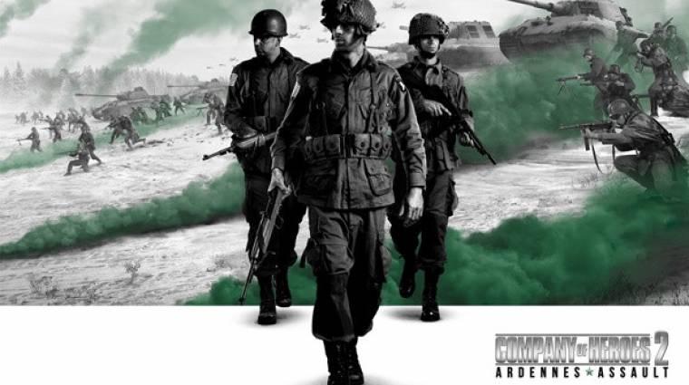 Gamescom 2014 - íme a Company of Heroes 2: Ardennes Assault bevezetőkép