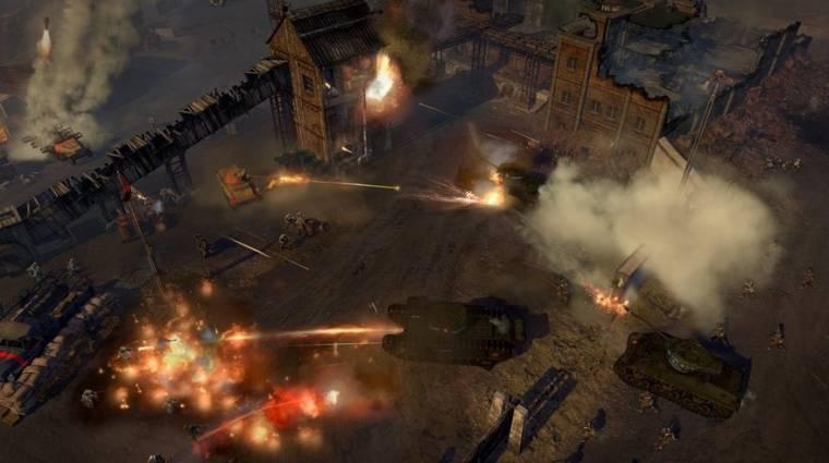 Company of Heroes 2: The British Forces - gameplay és részletek az új fejlesztői videóban bevezetőkép