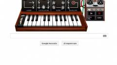 Zenélni lehet a Google főoldalán kép