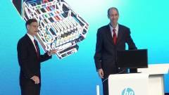 HP-3M vékony kliens egyetlen kábellel kép